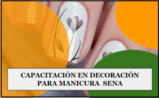 decoración para manicura